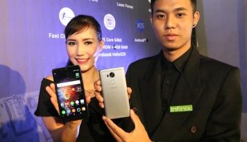 Foto Infinix Tutup 2016 dengan Dua Smartphone Baru