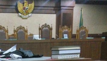 Foto IJTI: Pelarangan Siaran Langsung Sidang Megakorupsi E-KTP Sudah Kebablasan
