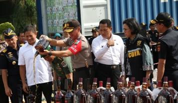 Foto Bea Cukai: Daerah Penyelundupan Paling Rawan Itu di Selat Malaka