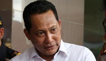 Foto Buwas Jabat Ketua Kwarnas Pramuka