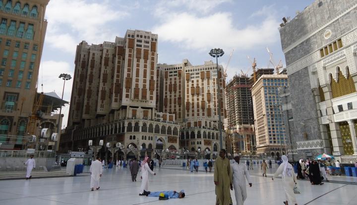 Foto Berita Alhamdulillah, Mekkah Lengang Jelang Kedatangan Jamaah Indonesia