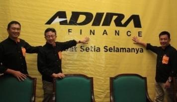 Foto Dalam 6 Bulan, Pembiayaan Adira Finance Tembus Rp18,4 Triliun