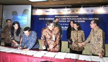 Foto Menteri Rini Minta BTN Atasi Kesenjangan Jumlah Rumah yang Dibutuhkan Masyarakat