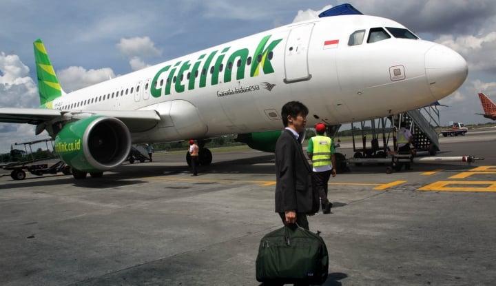 Foto Berita Citilink Bantah Pesawat Rute Semarang-Surabaya Hilang di Radar