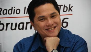Foto Bung Erick, Siapa Sih Bos Baru Bank Mandiri dan PLN?