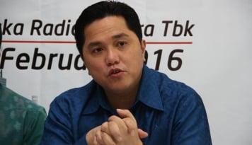 Foto Erick Thohir: Stop Politik Kebohongan, Rakyat Kasihan