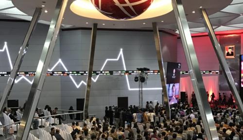 Foto IHSG Terkoreksi Tipis di Tengah Penurunan Bursa Asia