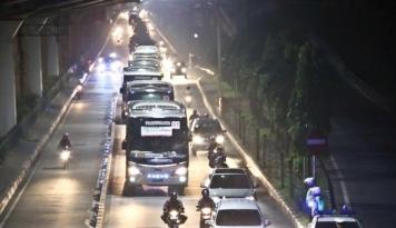 Foto Info Mudik: Arus Mudik di Ajibarang Alami Peningkatan Volume Kendaraan
