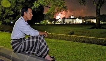 Foto Mengintip Menu Makanan Presiden Jokowi