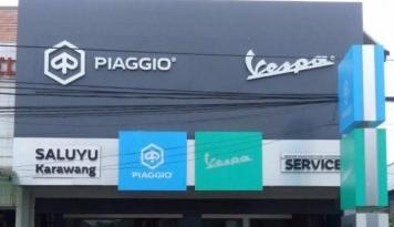 Foto Tutup 2016, Piaggio Indonesia Buka Dealer Baru di Karawang