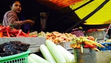 Foto Musim Hujan Picu Kenaikan Harga Sayuran