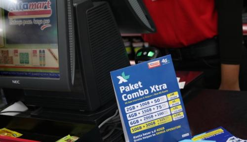 Foto Trafik Data XL Meningkat 146% Saat Natal