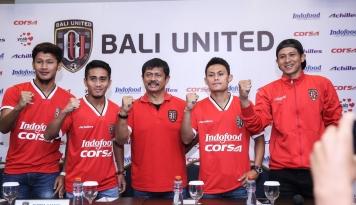 Foto Bali United Rekrut Empat Pemain Baru