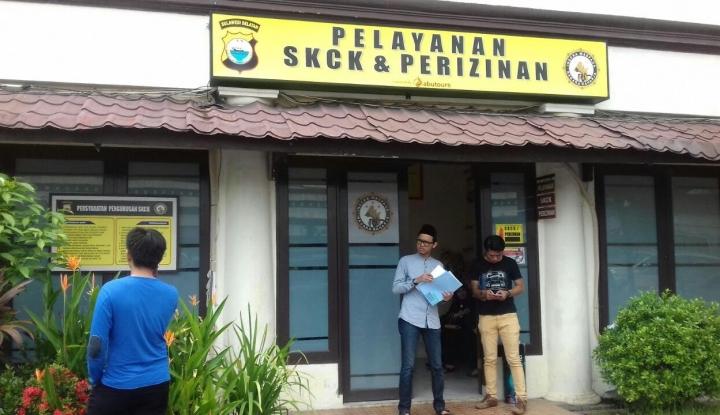 Foto Berita Permintaan Membludak, Polisi Sampai Buat Ruangan Khusus Pemohon SKCK