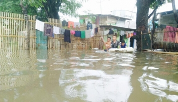 Foto Banjir Terjang Tiga Kecamatan di Kabupaten Bandung