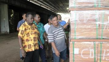 Foto BI Papua Dorong Perbankan Salurkan Kredit Usaha Pengolahan Kayu