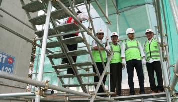 Foto Garap Proyek Dermaga dan RS Harapan Kita, Kontrak Baru Adhi Karya Capai Rp6,8 Triliun
