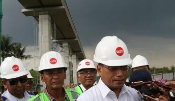 Foto Menhub Minta Pembangunan Infrastruktur Transportasi Dikebut