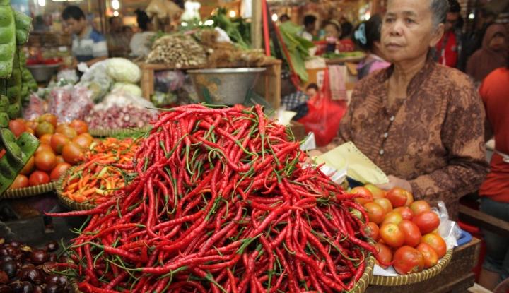 Foto Berita Harga Cabai Merah di Medan Naik Hingga 50%, Kementan Bilang Turun