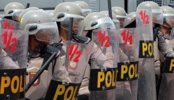 Foto Polisi Bakal Tindak Aksi Sweeping Ormas Ugal-Ugalan