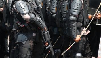 Foto 1.700 Personel Diterjunkan Amankan Debat Pilgub DKI