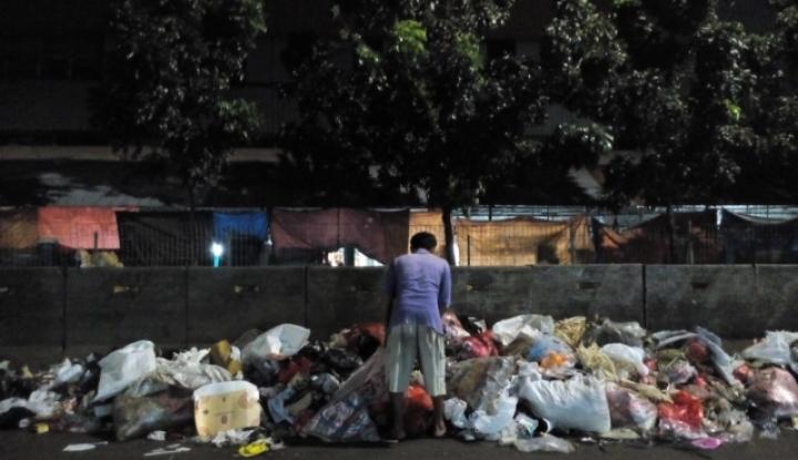 Foto Berita Perayaan Tahun Baru di Badung, Sisakan 354 Ton Sampah