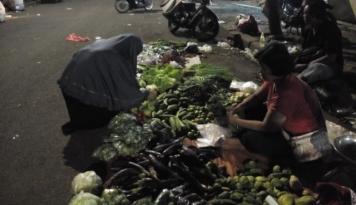 Foto Harga Sayuran di Medan Belum Stabil