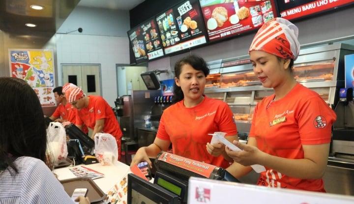 KFC Indonesia Bidik Penjualan Tumbuh 10,03% di 2018 - Warta Ekonomi