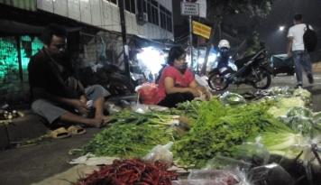 Foto Harga Sayuran di Medan Turun Drastis