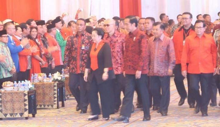 Foto Berita Pidato Megawati Dipuji Novanto