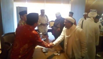 Foto Habis Lebaran Haji, Habib Rizieq Pulang?