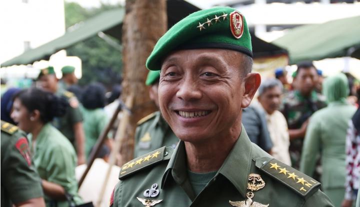 Foto Berita Pesan Jenderal Mulyono untuk KSAD Baru