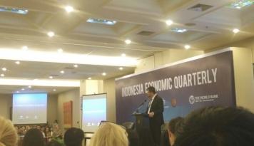 Foto Bank Dunia: Ekonomi RI Tumbuh 5,2%, Inflasi 4,3%