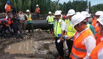 Foto Perumahan yang Dilintasi Proyek MRR Bakal Direlokasi