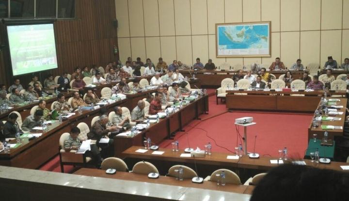 Foto Berita Raker dengan Panglima TNI, Komisi I Tanya Maksud Pembentukan Koopssusgab