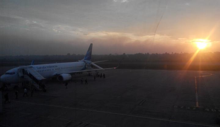 Foto Berita Jelang IMF, Proyek Apron Bandara Bali Capai 6,2 Persen