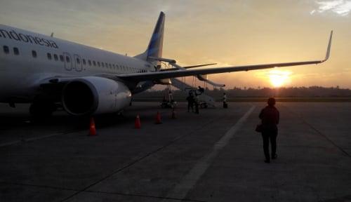 Foto Garuda Siap Terbangkan 107.959 Calon Haji