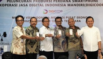 Foto KDIM Luncurkan Smartphone Digicopp