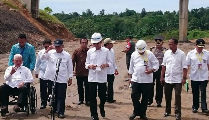 Foto Berita Jokowi Dorong Pembiayaan Infrastruktur Bersumber Non-APBN