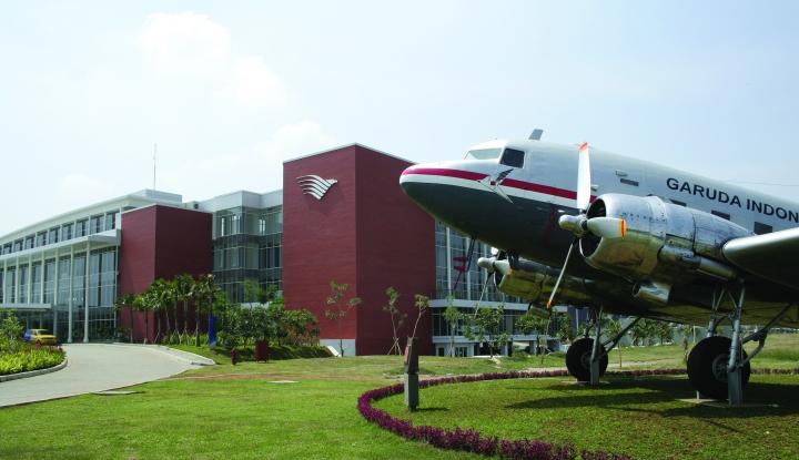 Foto Berita Garuda Kasih Tiket Murah untuk Penumpang Pesawat Kecil