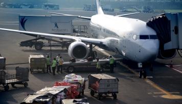 Foto Catat!! Penerbangan Pertama Haji Indonesia 17 Juli