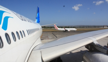 Foto Garuda Indonesia Terbang Tiap Hari untuk Rute Kupang-Makassar