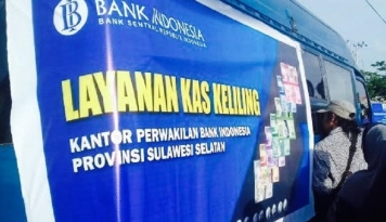 Foto Ini Upaya Bank Indonesia Sosialisasikan Rupiah Baru di Makassar