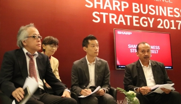 Foto SHARP Perkenalkan Slogan baru  'Be Original', Siap Tingkatkan Market Share