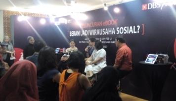 Foto DBS Luncurkan E-Book Panduan Berwirausaha Sosial
