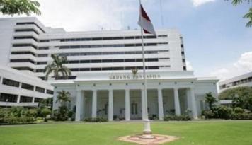 Foto Soal Bendera Terbalik, Kemenlu: Indonesia Jangan Emosi