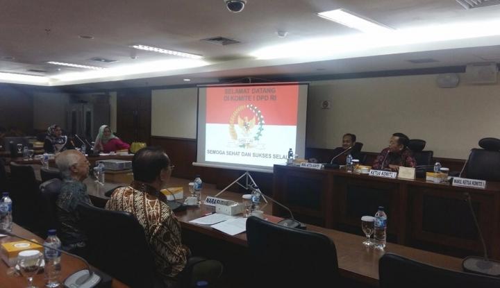 Foto Berita Larang Anggota DPD Jadi Pengurus Parpol, Hakim MK Bakal Dilaporkan