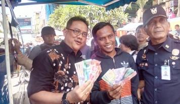 Foto BI Banten Kumpulkan Pramuka untuk Sosialisasikan Uang Baru