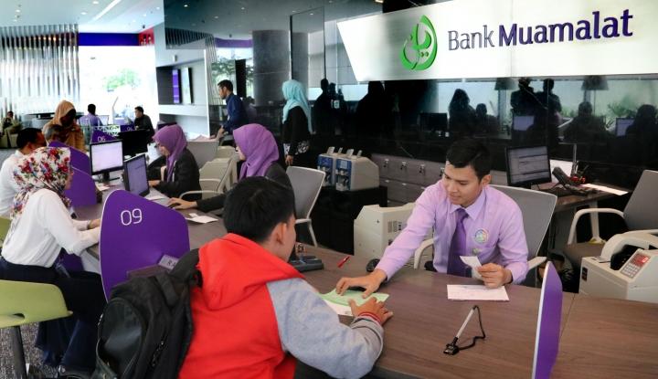 Foto Berita Kuartal Satu, Laba Bank Muamalat Anjlok 60,16%