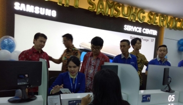 Foto MySamsung Service Center Hadir di Medan